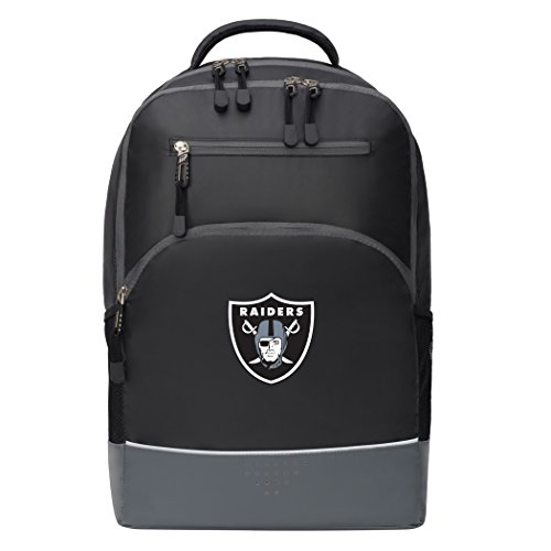 The Northwest Company Officially Licensed NFL Oakland Raiders Alliance Backpack, Black