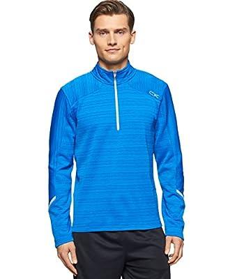 Calvin Klein Performance Space Dye 1/4 Zip Fleece Jacket