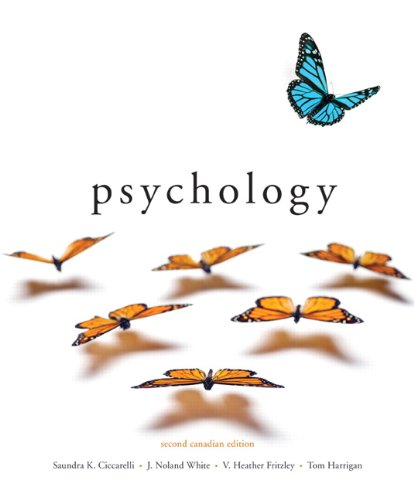 Psychology, Second Canadian Edition (2nd Edition)