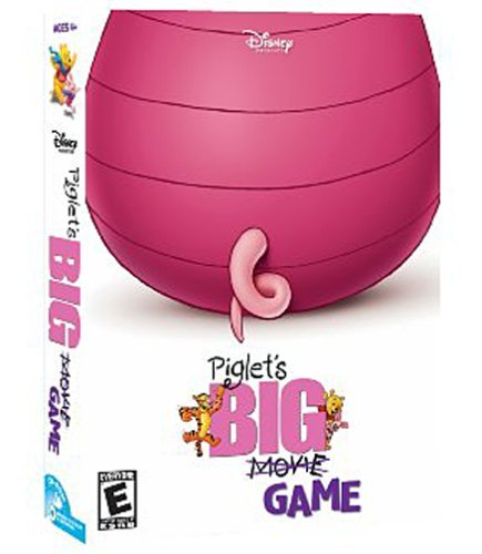 - Piglet's Big Game - PC/Mac by Disney Interactive Studios