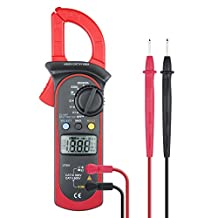Etekcity MSR-C600 Digital Clamp Meter, Auto Ranging Mulitmeter with AC DC Voltage, AC Current, Diode and Resistance Test