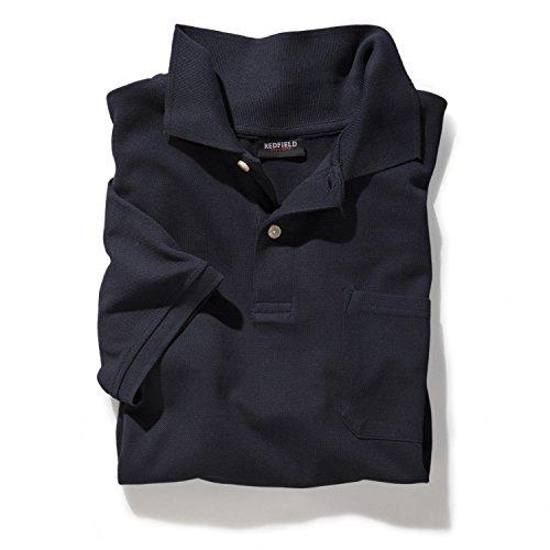 Polo Shirt in dunkelblau von Redfield in Übergrößen bis 8 XL