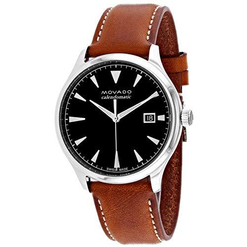 Movado Heritage Black Dial Automatic Men's Watch 3650055