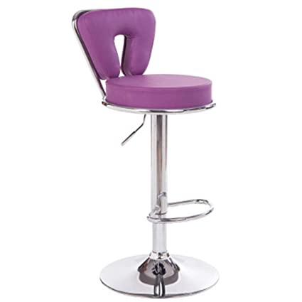 Astonishing Amazon Com Adjustable Bar Stool 3600Swivel Bar Chairs Pu Andrewgaddart Wooden Chair Designs For Living Room Andrewgaddartcom