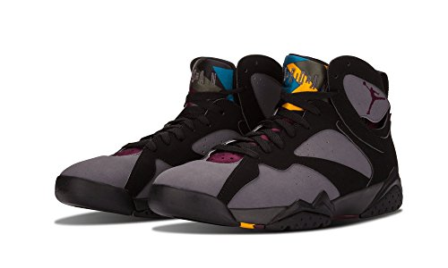 Nike Heren Air Jordan 7 Retro Bordeaux Zwart / Bordeaux-light Graphite Suede Maat 11
