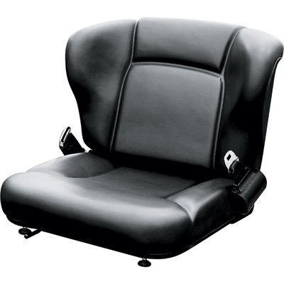 Wise Toyota-Style Universal Lift Truck Seat Assembly - Black, Model# WM1357 ()