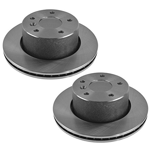 Front Disc Brake Rotors Pair Set of 2 for Land Rover Discovery ()