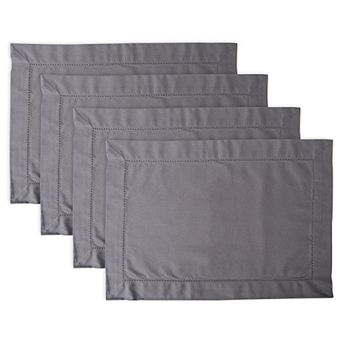 DII Washable Everyday Hemstitch Placemat