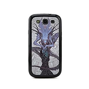 CaseCityLiu - Cartoon Variation of Animal 3D Design Black Bumper Plastic+TPU Case Cover for Samsung Galaxy S3 SIII I9300