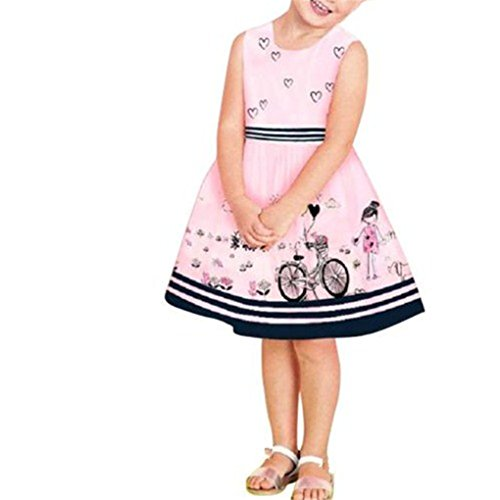 Haoricu Toddler Sleeveless Princess Dresses
