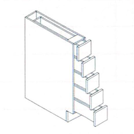 Amazon.com - Spice Drawer Base Cabinet - Kitchen Storage And ...