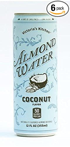 victorias kitchen almond water coconut 12 oz pack of - Victorias Kitchen Almond Water