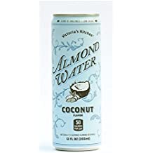 Victoria's Kitchen Almond Water Coconut 12 oz (Pack of 6)