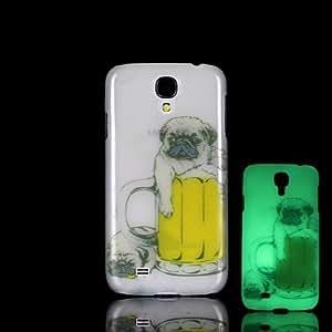 GX Teléfono Móvil Samsung - Cobertor Posterior - Gráfico/Resplandor en la Oscuridad - para Samsung S4 Mini I9190 Plástico )