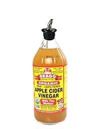 Bragg\'s No Spill Pour Spout for Braggs Apple Cider Vinegar Bottle (Spout Only) Bragg 16oz 32oz bottle