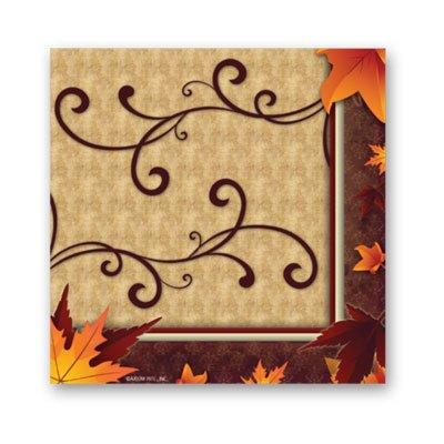 Fall Turkey Lunch Napkin 16ct,Axiom International,73946 by DollarItemDirect