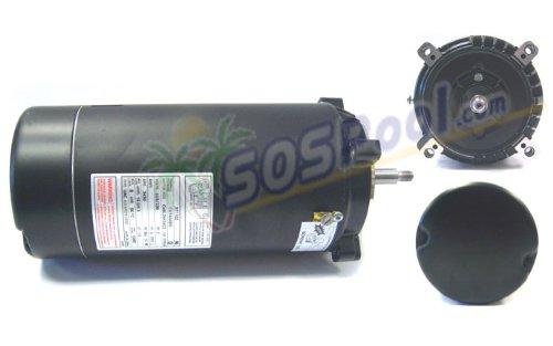 - A.O.Smith Threaded Shaft C-Frame 2 HP Motor ST1202