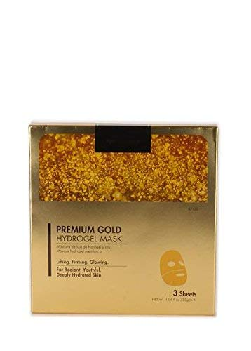 CALA Pure Radiance PREMIUM GOLD HYDROGEL MASK- Lighting Firming Glowing 3 sheet/pack -