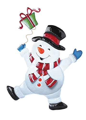 Christmas Cheerful Character Garden Stak - Character Snowman Shopping Results