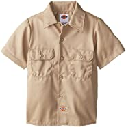 Dickies Boys' Twill Shirt, Desert S