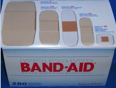 BAND-AID BIG VARIETY PACK 280EA by J&J CONSUMER SECTOR *** Part No: 38137004711 (Consumer Pack)