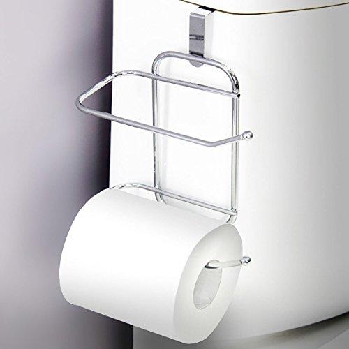 Vanderbilt Over-The-Tank Toilet Paper Tissue Hanging Metal 2-Roll Reserve Holder