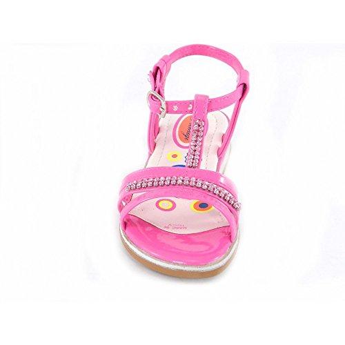 Primigi - Primigi Sandales Petit Fille Boucle Cuir rosa 82122 - Rose, 27