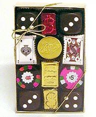 Chocolate Casino Gift Box - Medium - Case of 6 Gift Boxes (Chocolate D And D Dice compare prices)