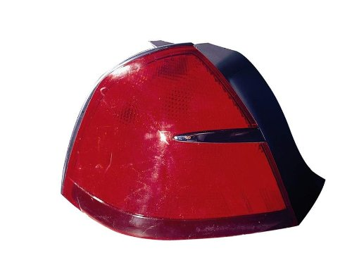 Depo 331-1966L-US Mercury Grand Marquis Driver Side Replacement Taillight Unit without Bulb (Side Drivers Tail Marquis Grand)