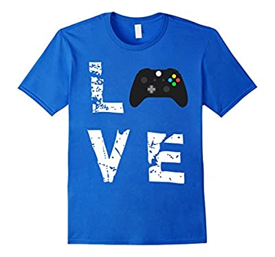 Love Video Games Valentine's Day Funny T-Shirt