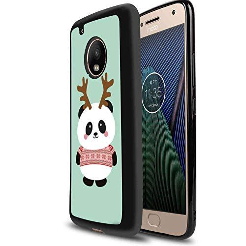 - TPU Case Fits for Moto G5 [5 Inch] Antler Panda