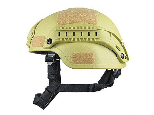 Wesource Army Green Adult Light Weight Cycle Helmet for Bike Riding Safety CS and Tactics Helmet (One size) by Wesource