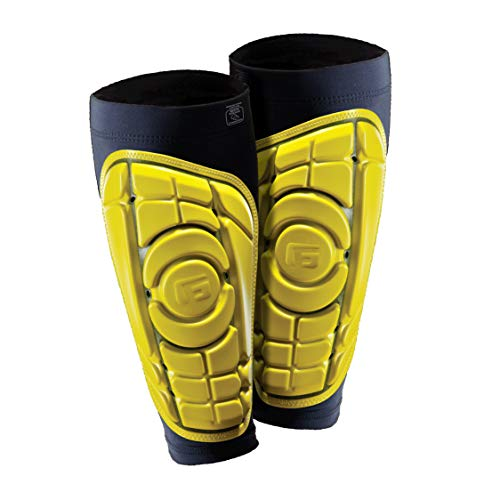 G-Form Pro-S Shin Guards, Iconic Yellow, Large