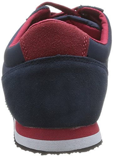da a collo Clearblue uomo alto ginnastica Marine Rouge Blu Disco da Redskins Scarpe xwHqFTn