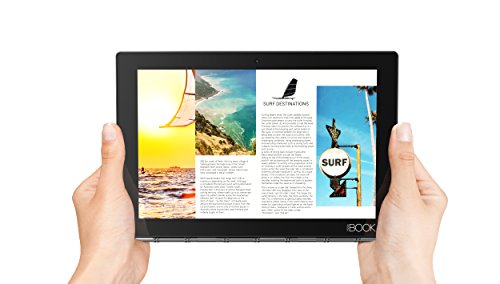 Lenovo Yoga Book - FHD 10.1'' Windows Tablet - 2 in 1 Tablet (Intel Atom x5-Z8550 Processor, 4GB RAM, 64GB SSD), Black, ZA150000US by Lenovo (Image #5)