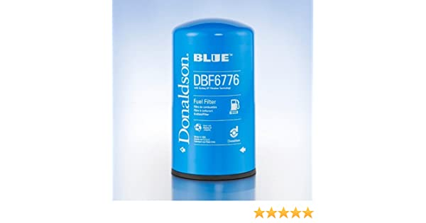 DBF6776 Donaldson Fuel Filter - Free Shipping Pack of 3 Spin-On Secondary
