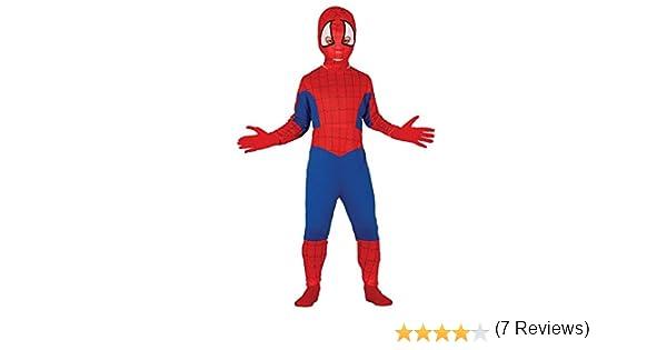 Guirca - Disfraz de Spiderman, talla 3-4 años, color rojo (83166 ...