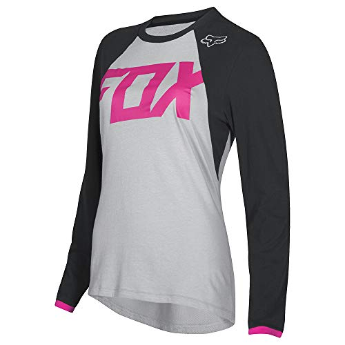Switch Fox - Fox Racing Switch Mata Women's Off-Road Motorcycle Jersey - Black/Pink / Large