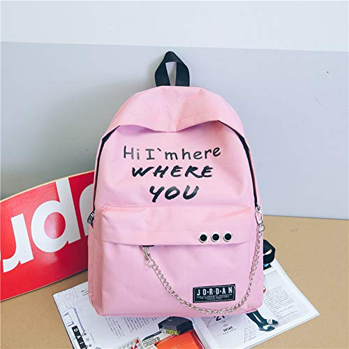 164c217c8411 Amazon.com  Oxford Backpacks 2019 Student Fashion Large Female Travel  Backpack for School Supplies Girls Casual Fabric Shoulder Bag  Kitchen    Dining