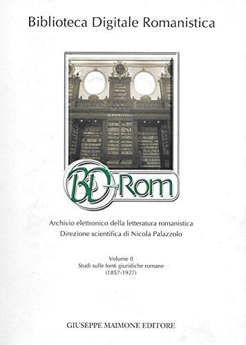 Biblioteca digitale romanistica. Archivio elettronico della letteratura romanistica. Con CD-ROM: 2 N. Palazzolo