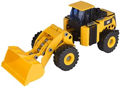 Ks Kids-80933 Disney MALETIN CONSTRUCCION Excavadora, Color Negro ...