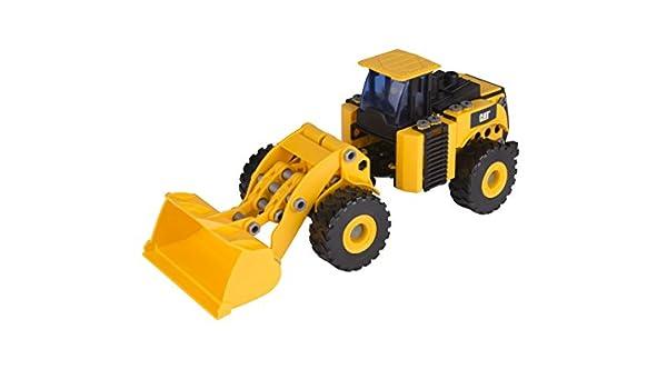 Ks Kids-80933 Disney MALETIN CONSTRUCCION Excavadora, Color Negro ...