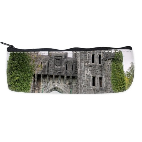 Ashford Castle Entrance Custom Art Printing Pencil Case Students Stationery Bags Pencil Holders Pen Bag