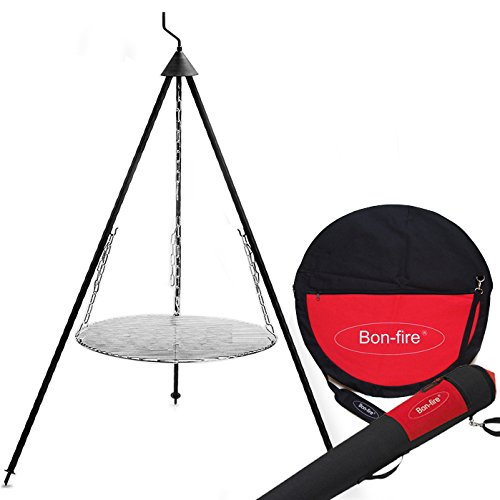 Bon-Fire Tripod Grill Grid Chains Bag for Tripod and Bag for Grill Grid