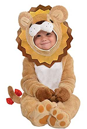 (0-6Months) - Dress Up Little Roar Baby Costume, 0- .