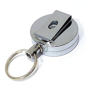 Tofree Anti-Perte Porte-clés Porte-clés Clip Ceinture Boucle avec Cordon de 510ea6733bc