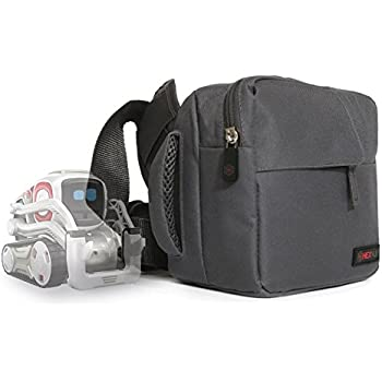 b659b2ed7309 Hexnub Adventure Bag for Anki Cozmo Toy Robot fits Cozmo, Cubes, Charger  and Accessories Grey Red
