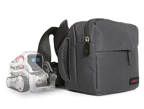 Hexnub Adventure Bag for Anki Vector and Cozmo Toy Robot fits Cozmo, Cubes, Charger and Accessories - Cosmo Protector Hard