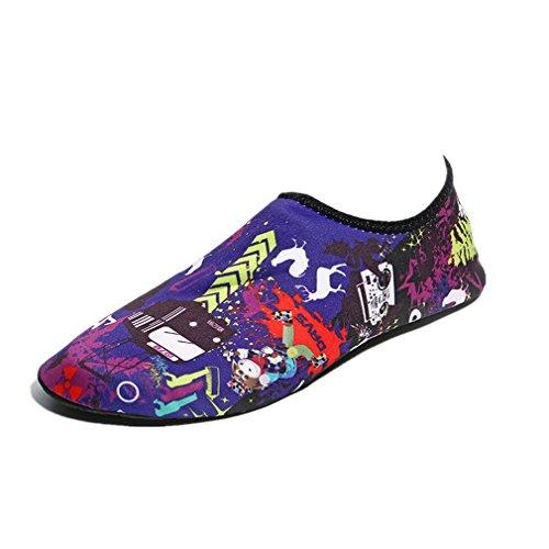 Wuayi Sport Mixte Adulte Violet De Chaussures 0rEAr