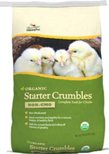Manna Pro Organic Starter Crumbles, 30-Pounds